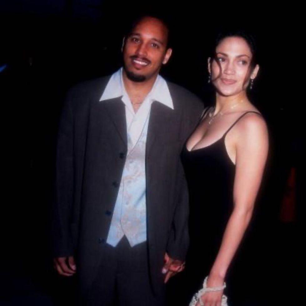 David Cruz was the first love of J. Lo (photo: TMZ)