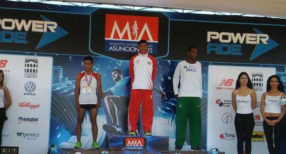 Wilma Arizipana y Juan Huamán  ganaron Sudamericano de Maratón en Paraguay  [FOTOS]