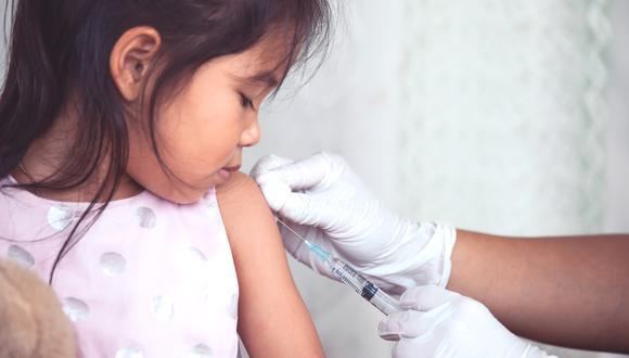Los niños deben contar con un esquema de vacunación completo para evitar enfermedades. (Foto: shutterstock)