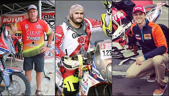Dakar 2019: Sebastián Cavallero fue el peruano mejor ubicado en motos