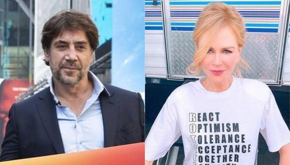 "Javier Bardem y Nicole Kidman interpretarían a a la pareja que triunfo en la comedia televisiva ""I Love Lucy"". (Foto: @javierbardem/@nicolekidman)"