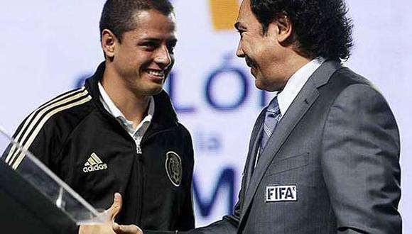 Ex leyenda del fútbol mexicano llama 'Machote' a 'Chicharito' Hernández