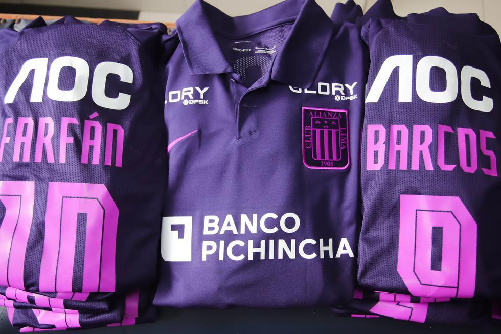 Alianza Lima estrenará su camiseta morada ante UTC. (Foto: Alianza Lima)