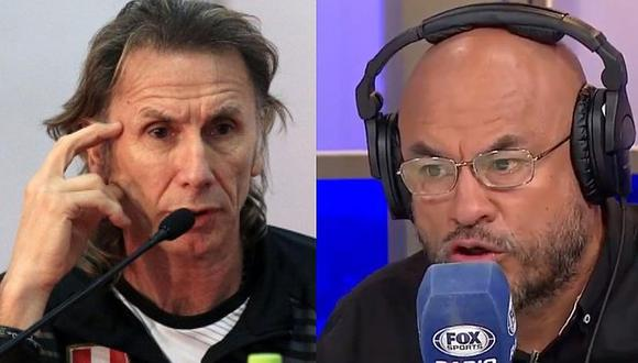 "Fox Sports: ""Si esto continúa así, Ricardo Gareca renuncia a la selección peruana"" | VIDEO"