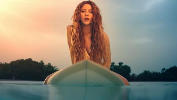 """Shakira estrena """"Don't Wait Up"""", su nueva canción. (Foto: Captura)"""