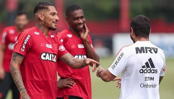 """""""Paolo Guerrero quiere quedarse en Flamengo"""", indica medio brasileño"""