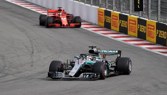 Lewis Hamilton se impuso en el Gran Premio de Fórmula 1 de Rusia