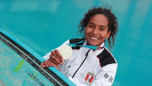 María Fernanda Reyes fue medalla de plata en los Juegos Panamericanos Lima 2019. (Lino Chipana/Perú21)