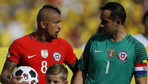 Chile vs. Colombia | Jugador de la 'Roja' explota: se hartó del conflicto entre Arturo Vidal y Claudio Bravo [VIDEO]