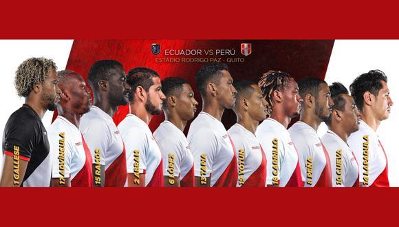 La selección peruana enfrenta este martes en Quito a Ecuador por las Eliminatorias Qatar 2022.