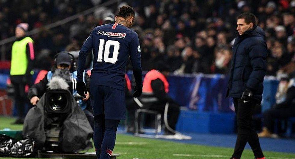 Neymar no será operado y estará fuera de las canchas por 10 semanas