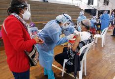 Áncash: hoy se inicia la jornada de vacunación a los adultos mayores de 70 años