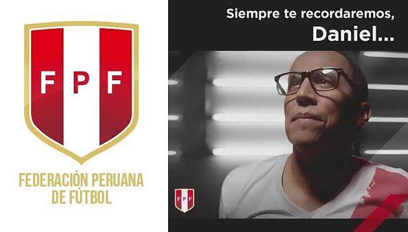 FPF publicó emotivo video recordando el fallecimiento de Daniel Peredo