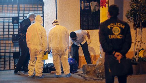 El crimen del padre de familia ocurrió la noche del lunes 2 de junio en San Martín de Porres. (Foto: César Grados/@photo.gec)