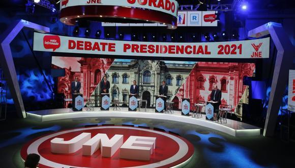 • Sigue aquí todos los resultados del tercer y último debate presidencial del JNE.