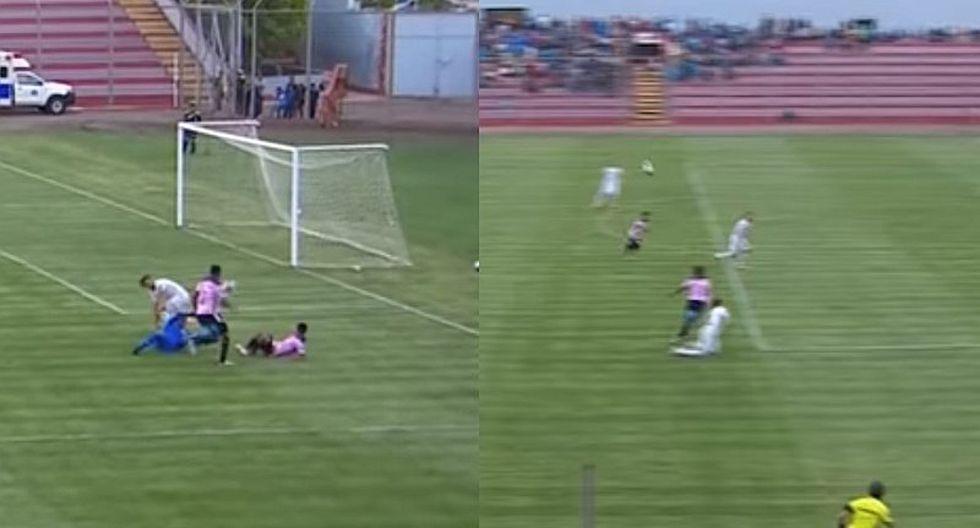 Luis Tejada anotó para Sport Boys tras blooper en el área de Ayacucho FC