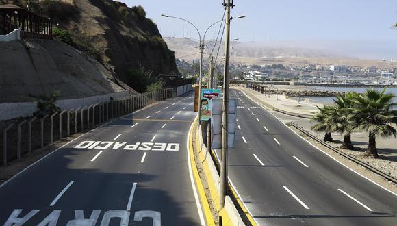 Domingo 9 de mayo habrá inmovilización social obligatoria en todo el Perú. (Foto: Jessica Vivente/GEC)