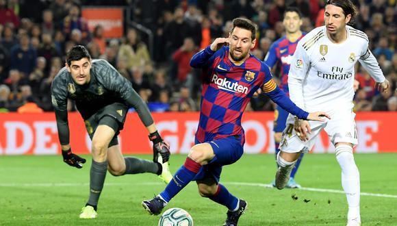 Barcelona y Real Madrid serán los protagonistas de este partidazo que se vivirá en el Camp Nou desde las 16:00 horas de España | Foto: AFP