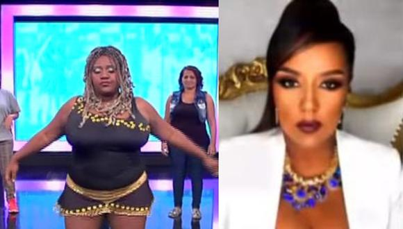 La 'Negra Petróleo' cambió de look. (Foto: Captura YouTube/Captura Magaly TV: La Firme).