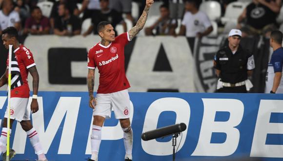 Paolo Guerrero le dio el triunfo 1-0 a Inter en el Brasileirao, así se vivió su gol a ras de cancha | VIDEO Twitter Internacional