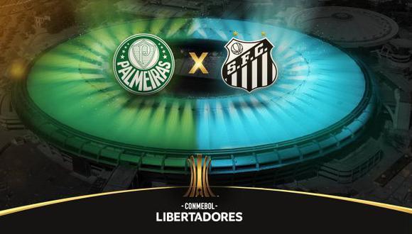 Palmeiras vs. Santos: chocan por el título de la Copa Libertadores 2020. (Foto: Conmebol Libertadores)