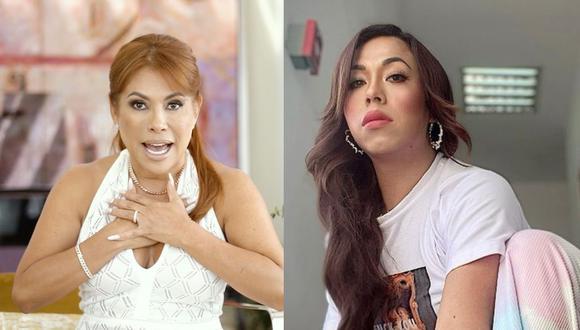 Magaly Medina le propone a 'Dayanita' ir en busca de su hijo luego que madre se negó a que menor tenga prueba de ADN. (Foto: @dayanita_show/@dayanita_show).