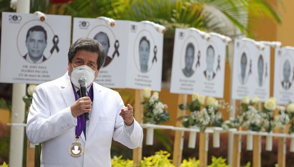 El Colegio Médico del Perú indicó que, hasta la fecha, hay 12.465 médicos infectados con el COVID-19. (Foto: GEC)