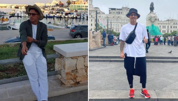 El antes y después de Gianluca Lapadula tras integrarse a la selección peruana. (Foto: Instagram/@gianluca_lapadula_official)