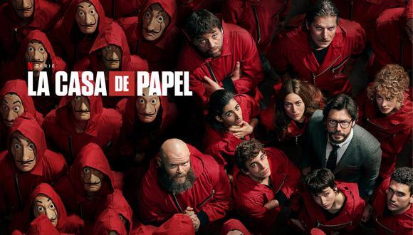 Sigue todas las novedades de la quinta temporada de La Casa de Papel.