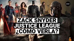 Liga de la Justicia de Zack Snyder: ¿De qué trata y dónde verla?