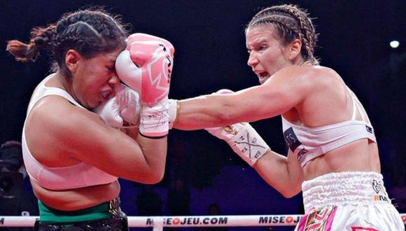 Jeanette Zacarías falleció cinco días después de la pelea el 28 de agosto. (Foto: Facebook Damon Gonzalez)