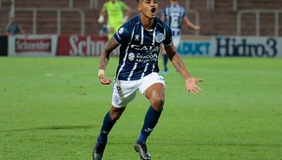 Wilder Cartagena espera continuar jugando en el extranjero, tras su salida de Godoy Cruz. (Foto: Godoy Cruz)