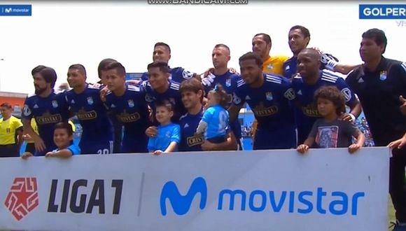 Sporting Cristal vs. Mannucci EN VIVO   El error de GOLPERÚ en las alineaciones del conjunto celeste [VIDEO