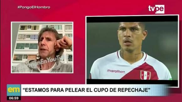 """Ricardo Gareca: """"Estamos para pelear el cupo de repechaje"""""""