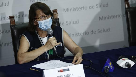 Frepap propone citar a ministra Pilar Mazzetti por caso de difteria. (Foto: GEC)