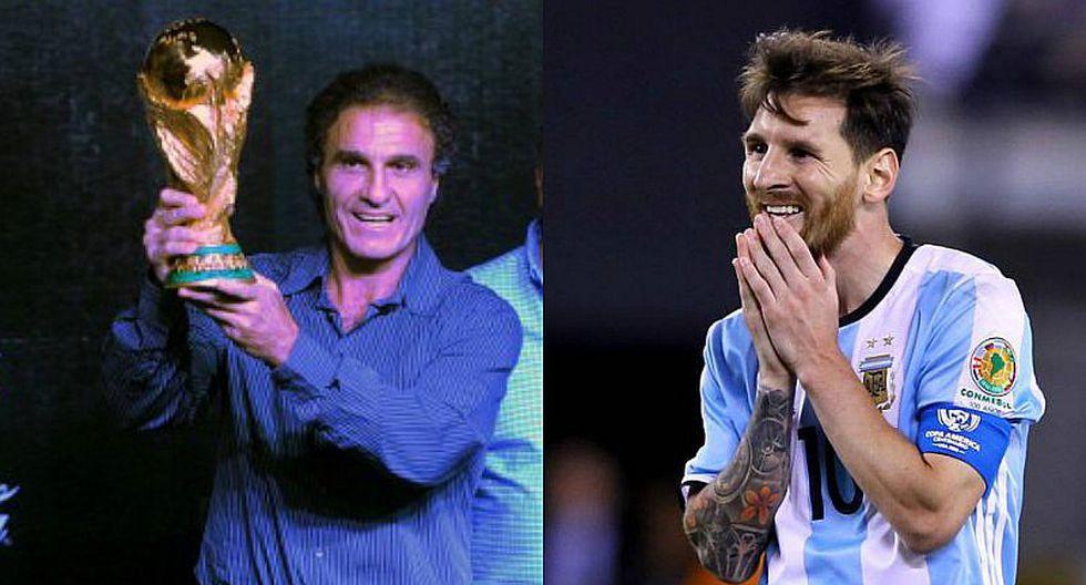 Vuelve Oscar Ruggeri: ¿Se acabó los amigos de Messi? (FOTOS)