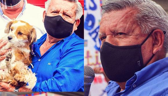 Durante su cierre de campaña en San Juan de Lurigancho César Acuña ofreció esterilizacions como cancha para animales. (Foto: Facebook César Acuña)