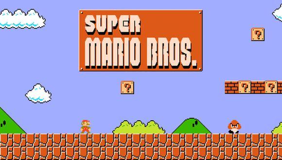 Super Mario, el pequeño fontanero que se convirtió en uno de los personajes más famosos de la historia de los videojuegos, debutó en uno de los primeros juegos del mundo que permitió al personaje moverse horizontalmente en un paisaje cambiante.