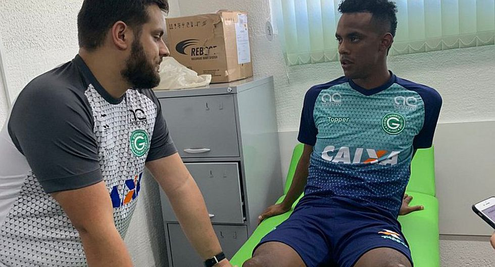 Nilson Loyola pasó exámenes médicos en Goias de Brasil