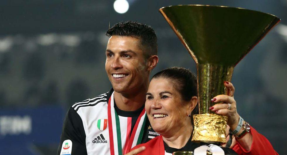 La madre de Cristiano Ronaldo recibió el alta médica y ya está con su familia en casa. (Foto: AFP)