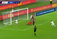 Gianluca Lapadula continúa su romance con el gol: así fue su nueva anotación en la Serie A   VIDEO