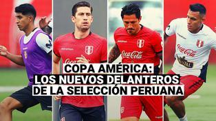 Conoce a la renovada delantera de la Selección Peruana en la Copa América 2021