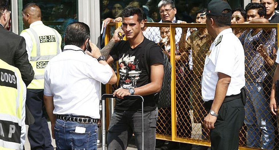 Selección peruana: Miguel Trauco charló con EL BOCÓN a su arribo