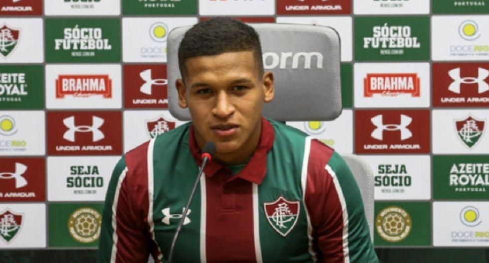 Fernando Pacheco sobre su comparación con Kyllian Mbappé en Fluminense: 'Es bueno pero cada uno tiene su historia'