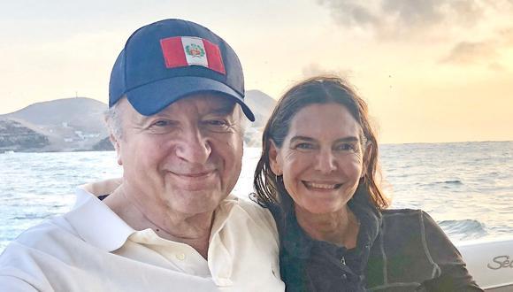 Hernando de Soto dijo que su esposa de 52 años también se vacunó con él en Estados Unidos. (Foto: Archivo Personal)