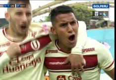 De contraataque: Alex Valera puso el 1-0 para Universitario vs. Binacional |VIDEO