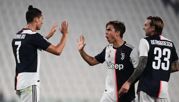 Paulo Dybala marcó un golazo en el partido entre Juventus y Lecce. (Foto: AFP)