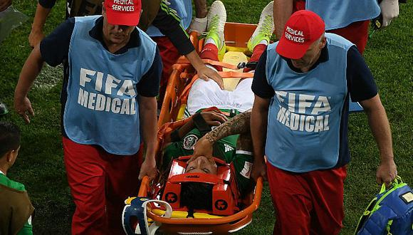Copa Confederaciones: mexicano sufrió terrible lesión [FOTO]
