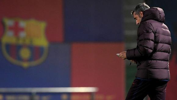El estratega español deja Barcelona tras la eliminación azulgrana en la Supercopa de España. Su reemplazante será anunciado próximamente por la entidad catalana. (Foto: AFP)