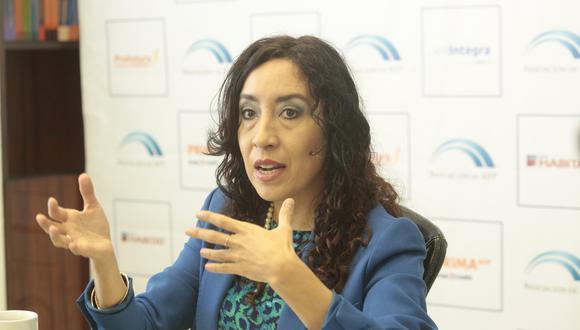 Giovanna Prialé denuncia amenazas de muerte hacia ella y sus hijos. Foto: GEC